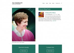 Ann Gadzikowski - Author and Educator