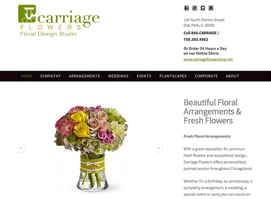 Carriage Flowers Floral Design Studio