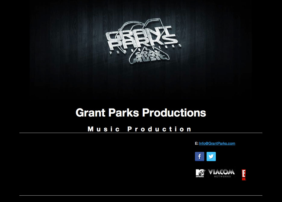 Grant Parks - Music Production