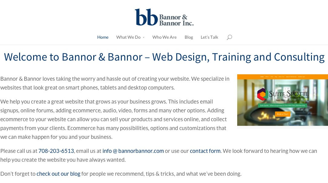 Bannor & Bannor Updates Their Website