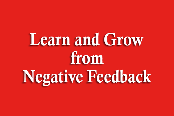 Learn and Grow from Negative Feedback