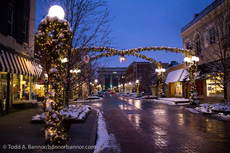 Oak Park Illinois Christmas - Bannor & Bannor Inc. Web Design, Photography & Video - Oak Park, IL