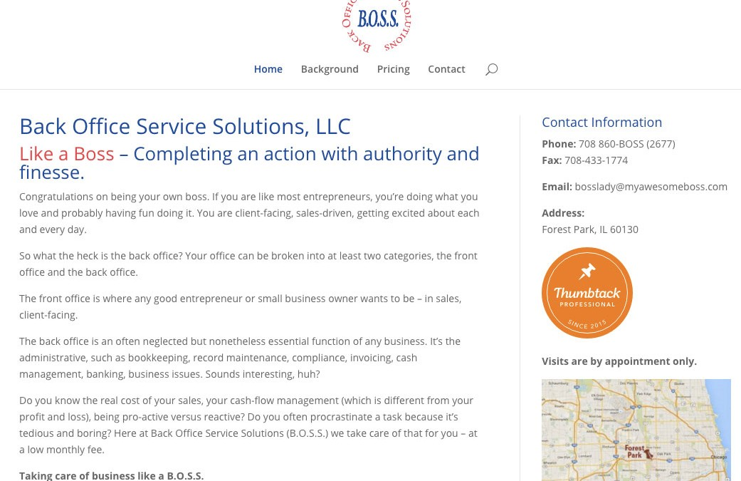 Back Office Service Solutions, LLC, Forest Park, IL