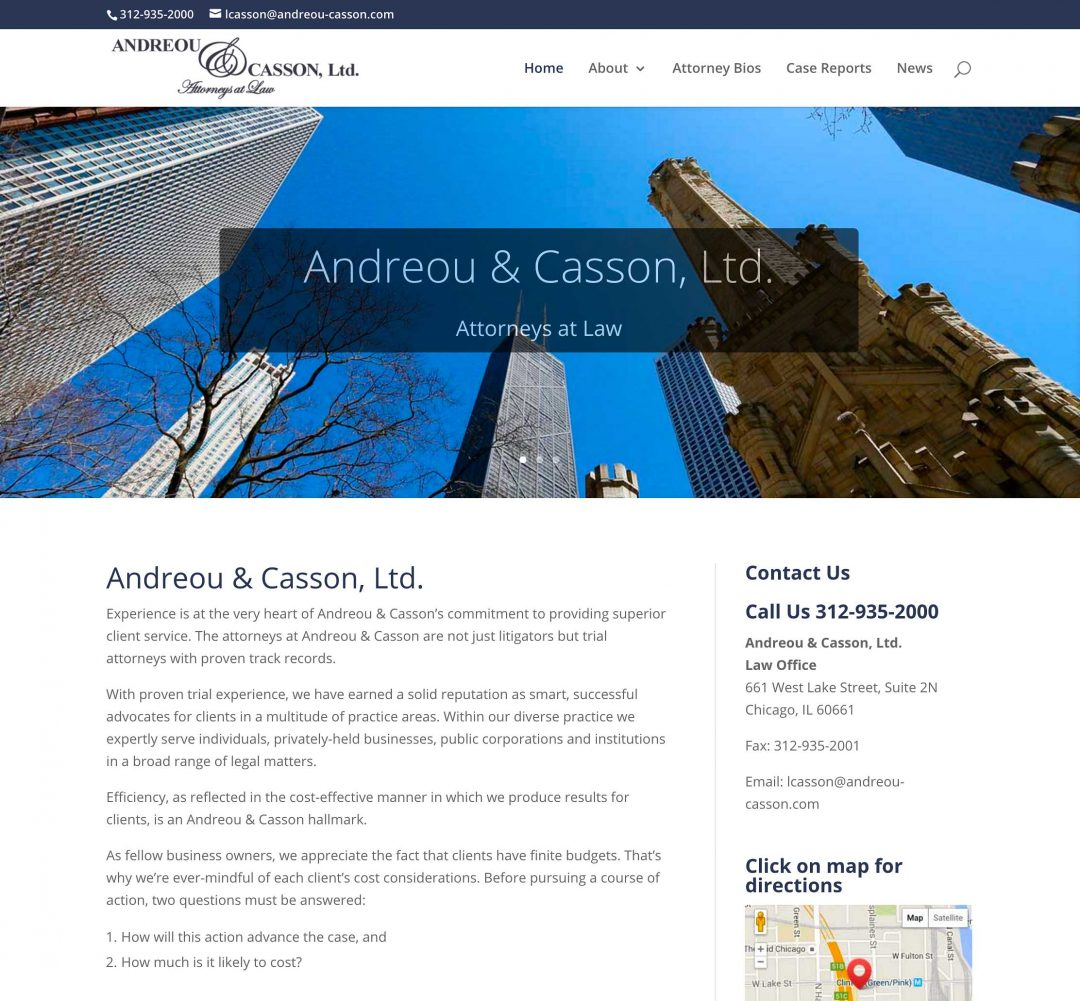 Andreou & Casson, Ltd. – Attorneys at Law
