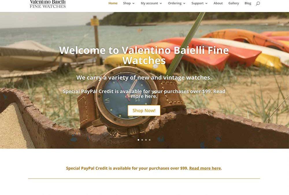 Valentino Baielli Fine Watches