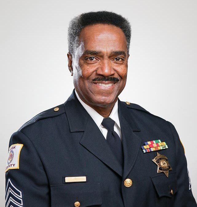 Portrait of Cook County Sheriff's Deputy
